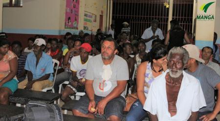 Moradores de comunidades rurais participam de palestra motivacional