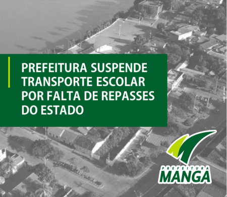 Prefeitura suspende transporte escolar por falta de repasses do Estado