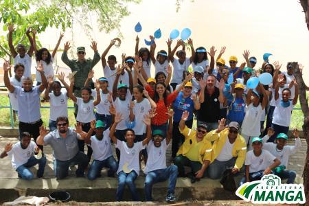 Alunos do CAIC realizam passeata em comemoração ao Dia Mundial da Água