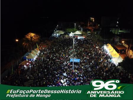 PROGRAMAÇÃO DA FESTA DA CIDADE ATRAI MAIS DE 10 MIL PESSOAS
