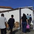 PREFEITURA INSTALA CABINE DE DESINFECÇÃO NO PORTO DA BALSA DE MANGA