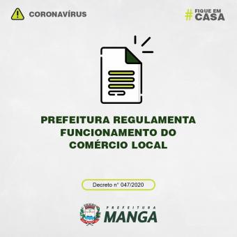 PREFEITURA REGULAMENTA FUNCIONAMENTO DO COMÉRCIO LOCAL