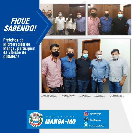 ELEIÇÃO DO CONSÓRCIO INTERMUNICIPAL DE SAÚDE DA MICRORREGIÃO DE MANGA