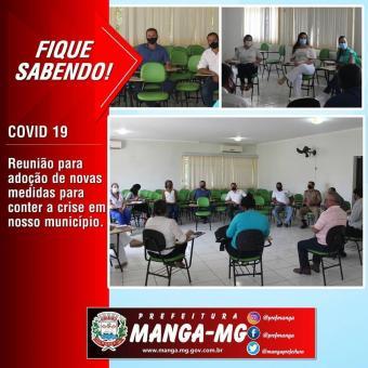 REUNIÃO DO GABINETE DE GESTÃO DA CRISE COVID-19