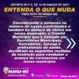 DECRETO N° 113 DE 16 DE MARÇO