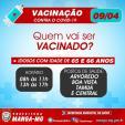VACINAÇÃO EM MANGA/MG
